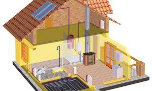 Печь-камин с водяным контуром отопления: выбор и самостоятельный монтаж