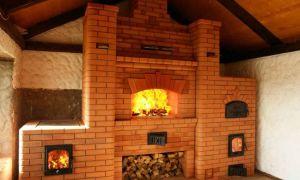 Камин-печь из кирпича: строим самостоятельно