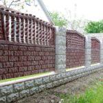 Бетонный забор для дачи: прочность, практичность, красота