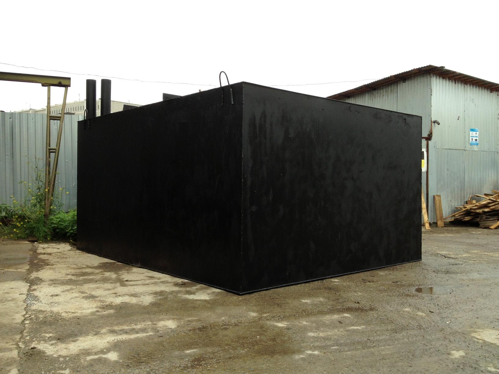 Бак для канализации дачного дома