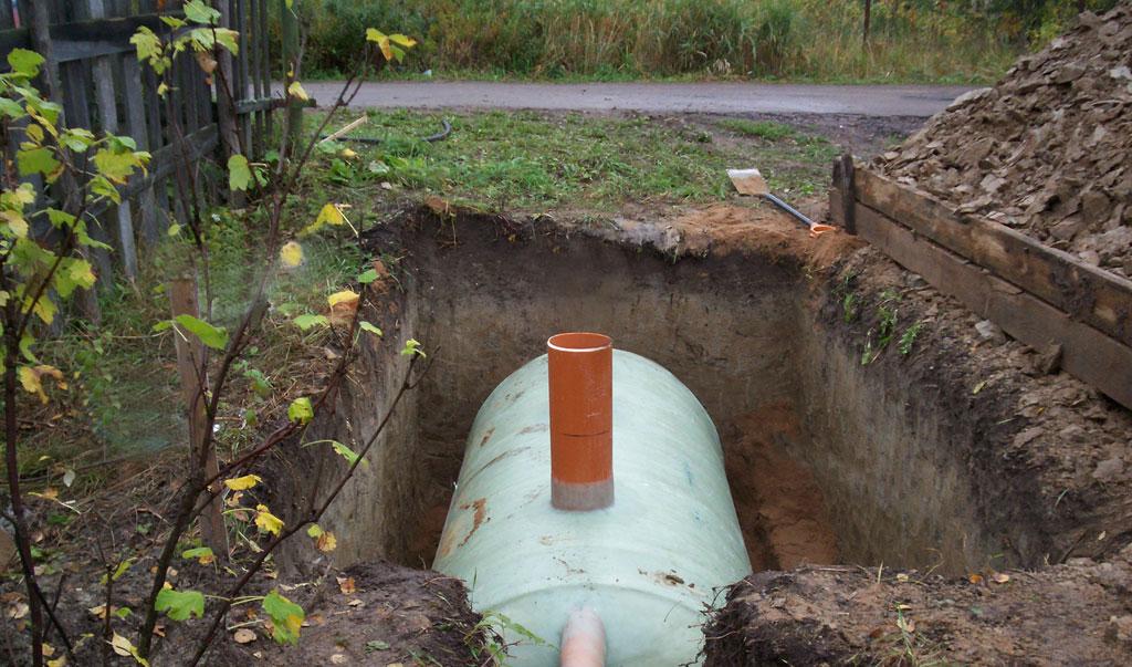 Герметичный бак для канализации в частном доме