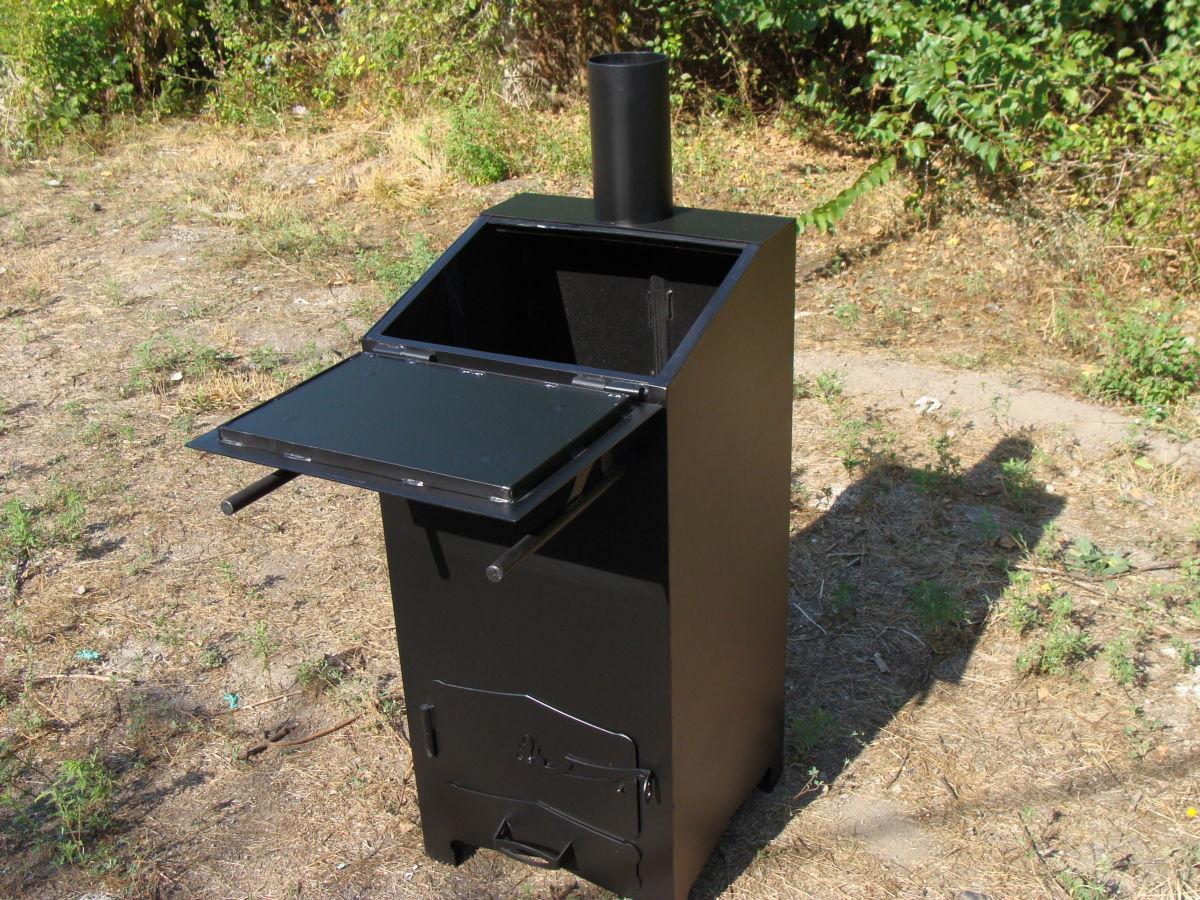 Готовая мусоросжигательная печь