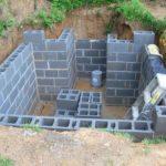 Погреб из пеноблоков на даче пособие по строительству