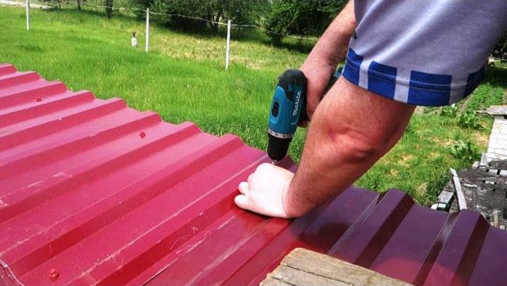 Как самостоятельно сделать ремонт крыши
