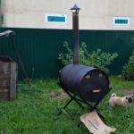 Печь на даче для сжигания мусора: простой монтаж своими руками