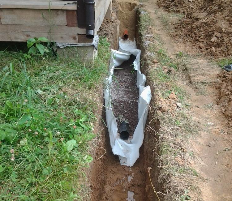 Как утеплить наружную канализацию в частном доме