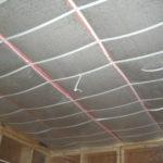 Как утеплить потолок в погребе