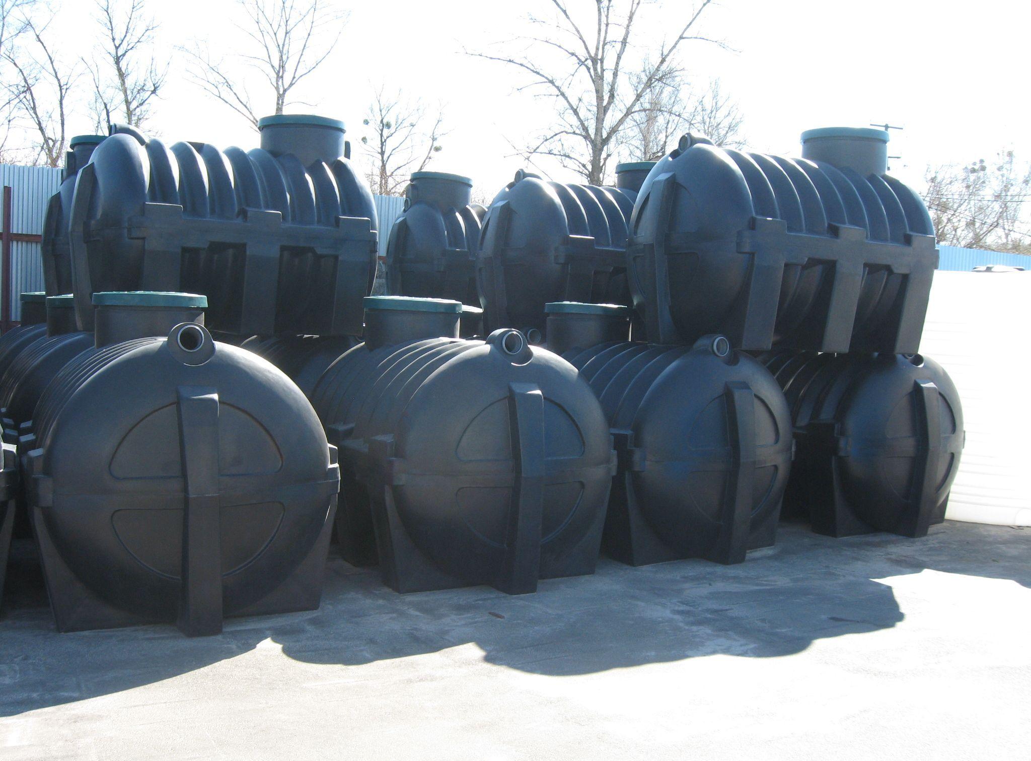 Канализационный резервуар для загородного дома