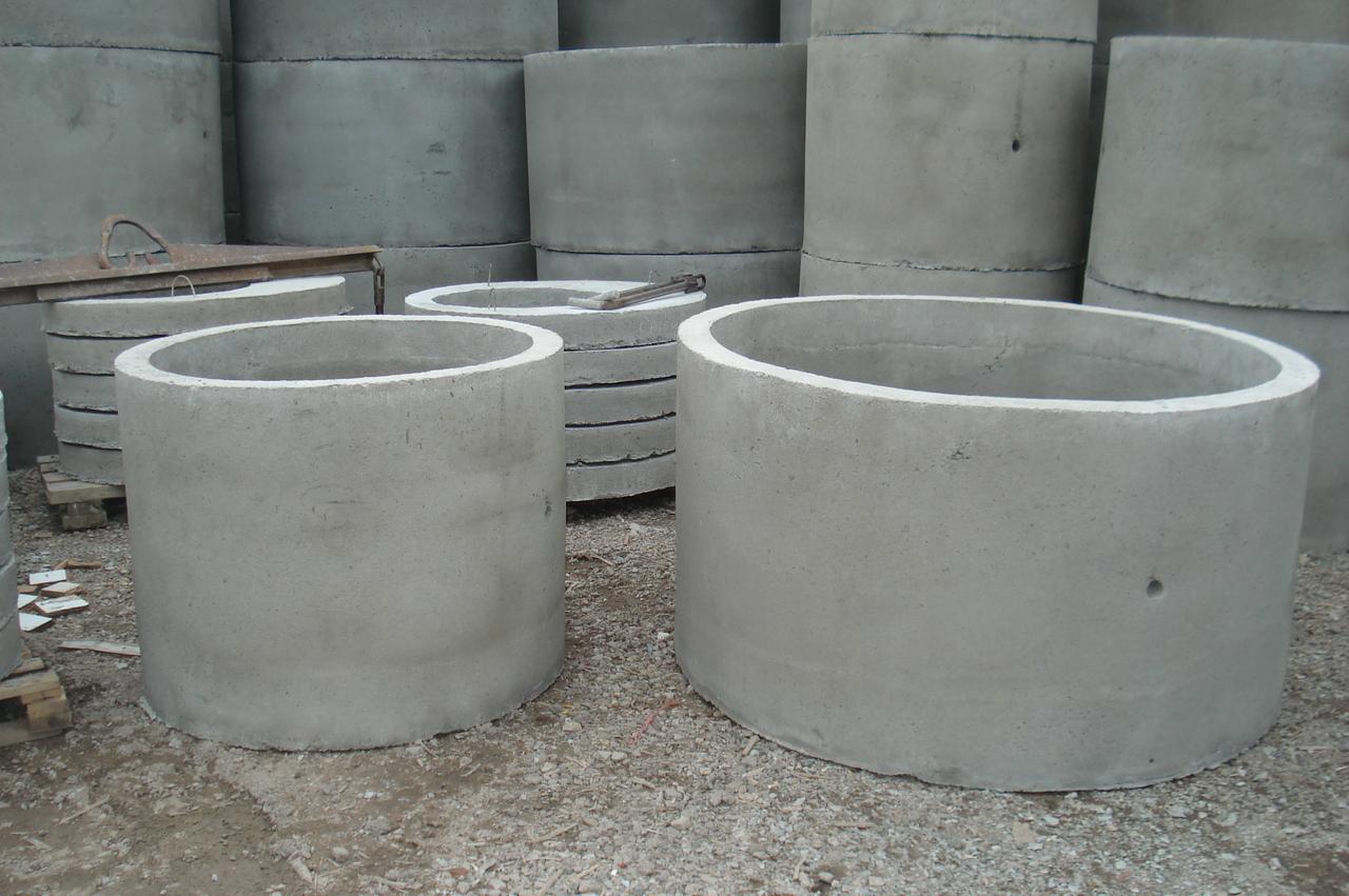 Кольца для канализации из бетона
