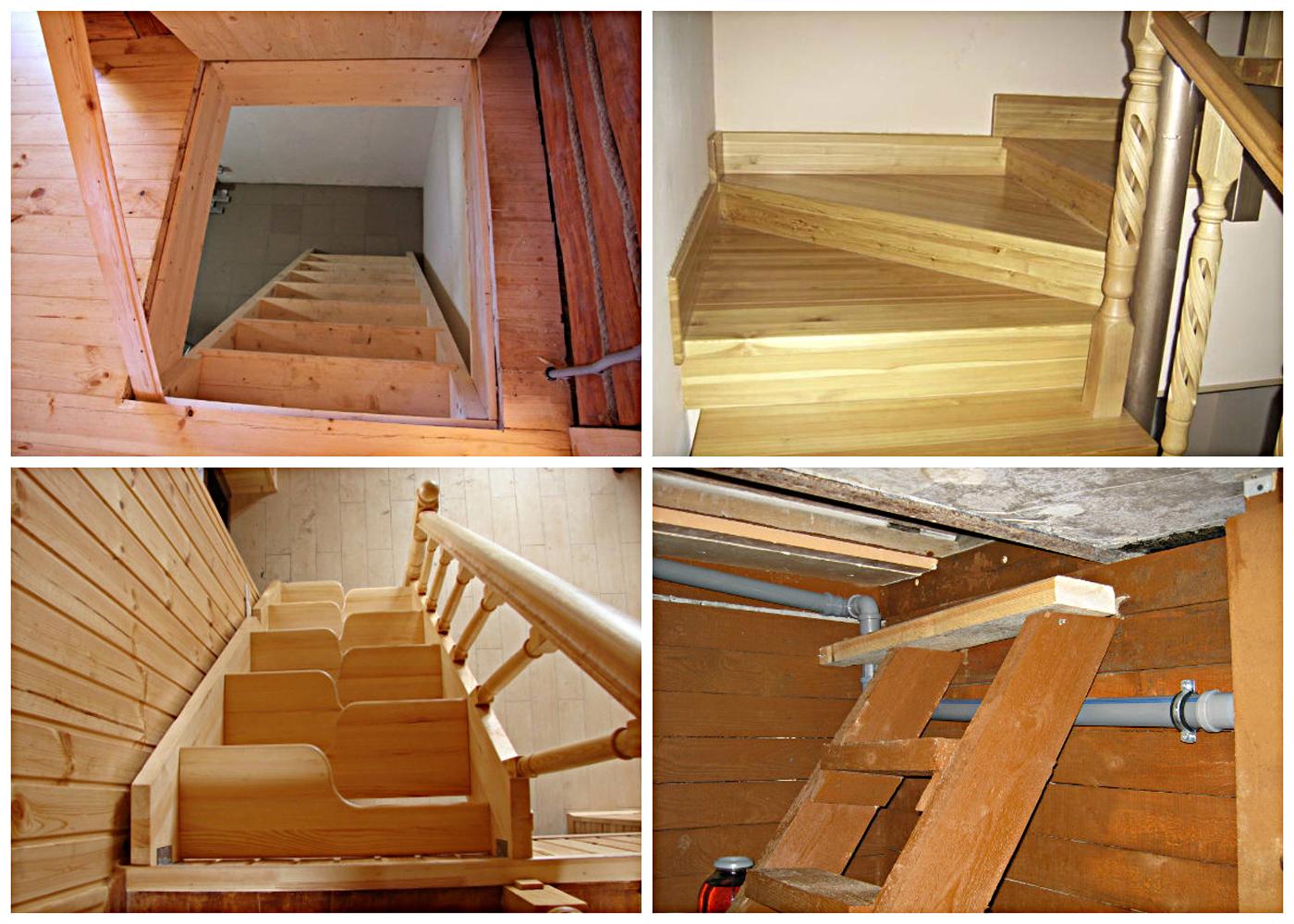Лестницы в подвал дачного дома своими руками