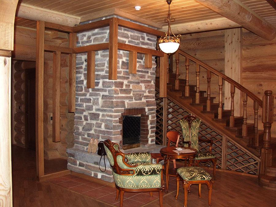 Меры безопасности при использовании камина в деревянном доме