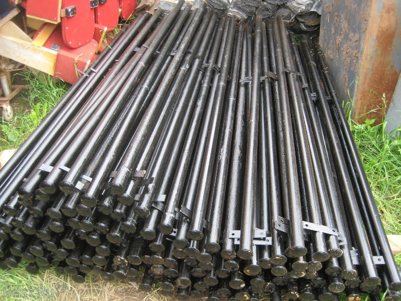 Металлические столбы для навеса цилиндрической формы