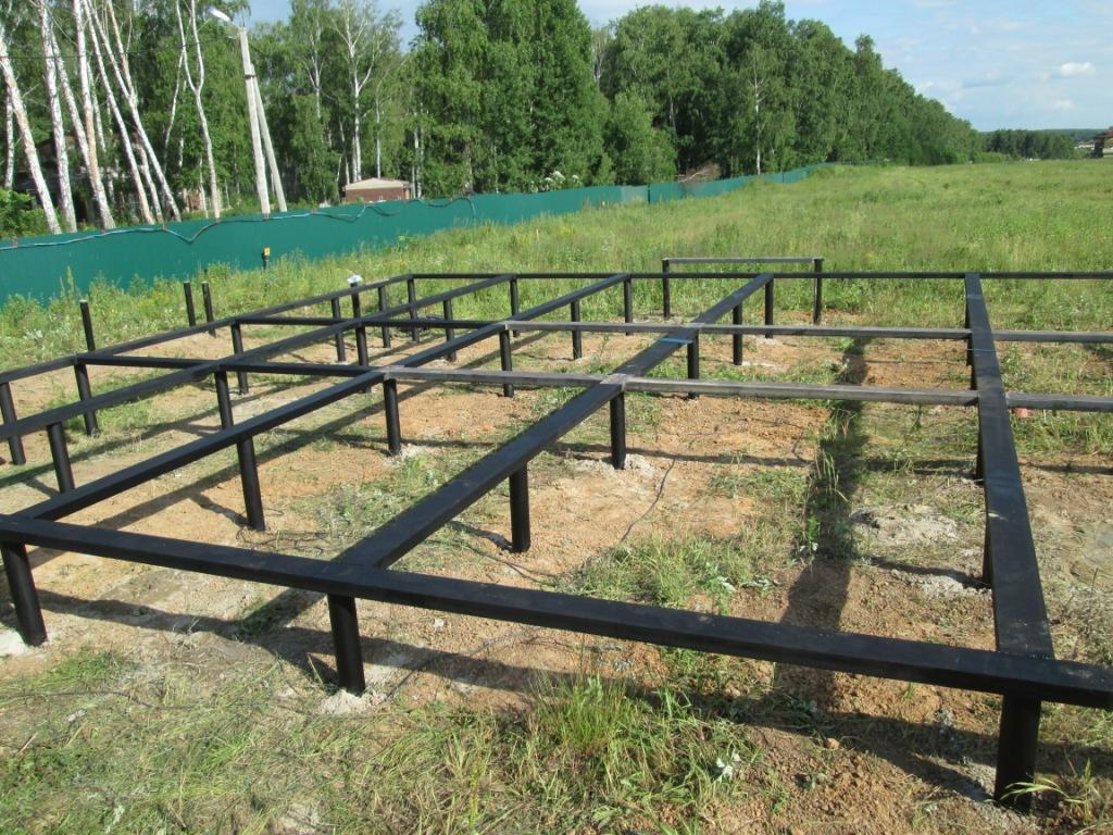 Свайно винтовой фундамент в Минске монтаж под ключ