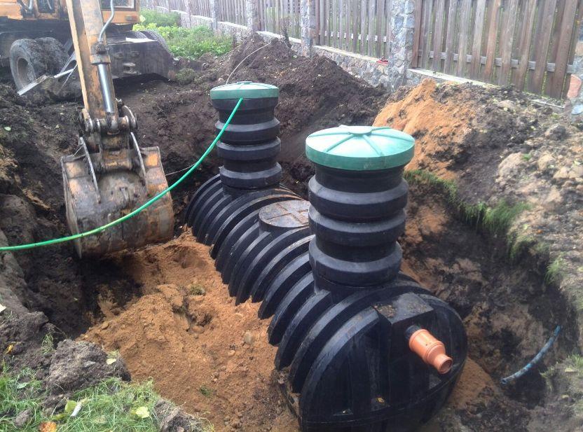 Накопительная канализационная емкость для дачи