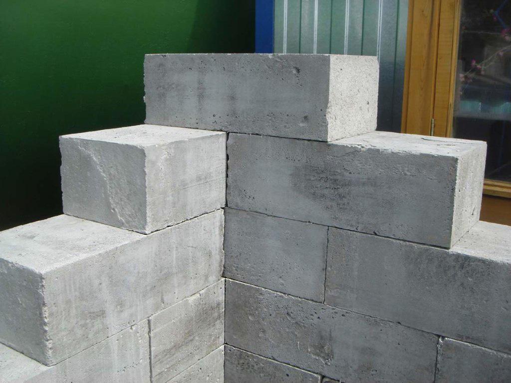 Пеноблоки для строительства погреба