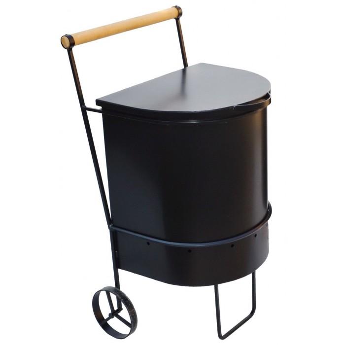 Передвижная портативная печь для сжигания мусора