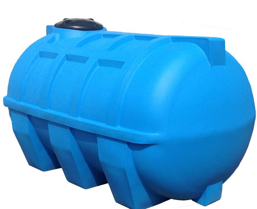 Пластиковая горизонтальная емкость для канализации