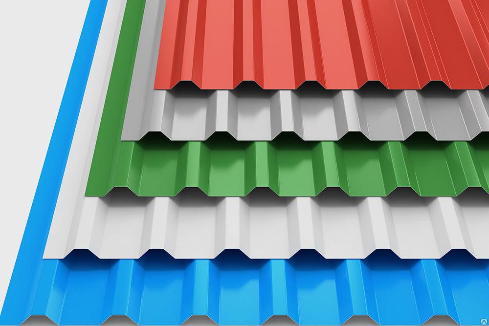 Цветовая гамма профнастила для крыши