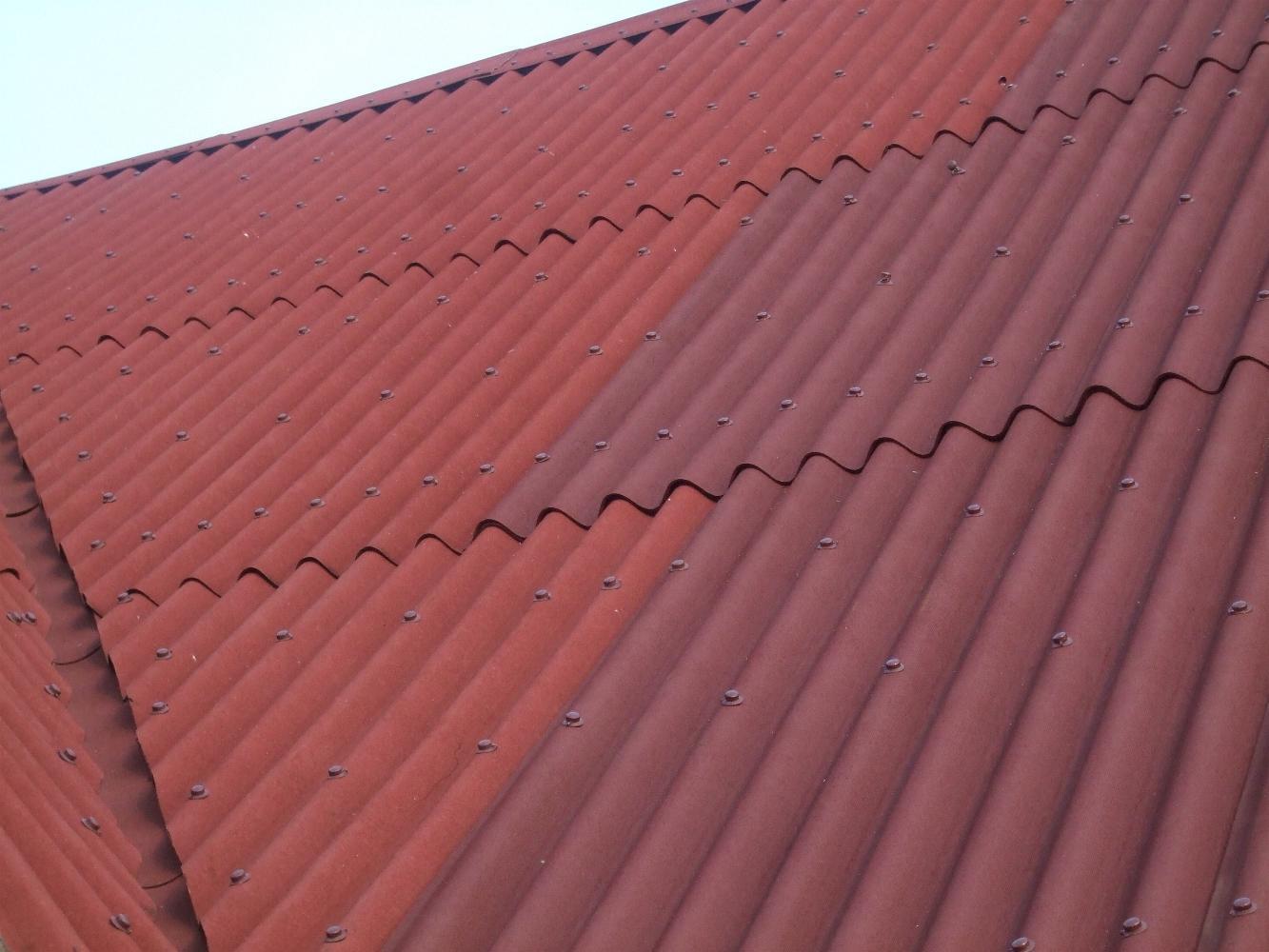 Укладка ондулина на крышу своими руками