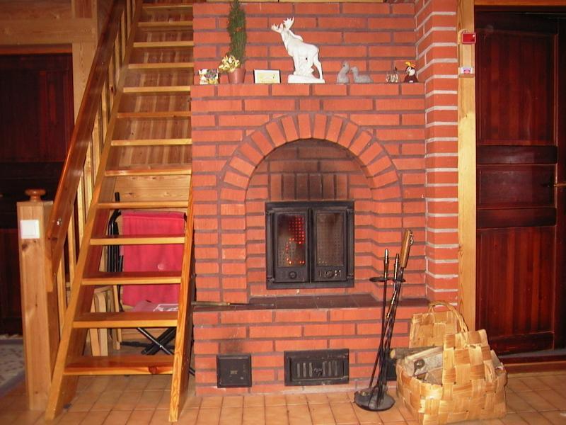Выбор места при строительстве печи-камина из кирпича