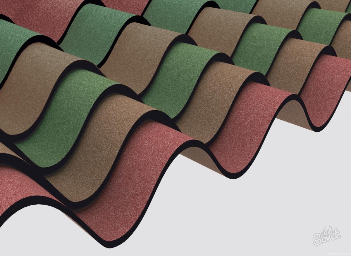 Выбор цвета для крыши из ондулина