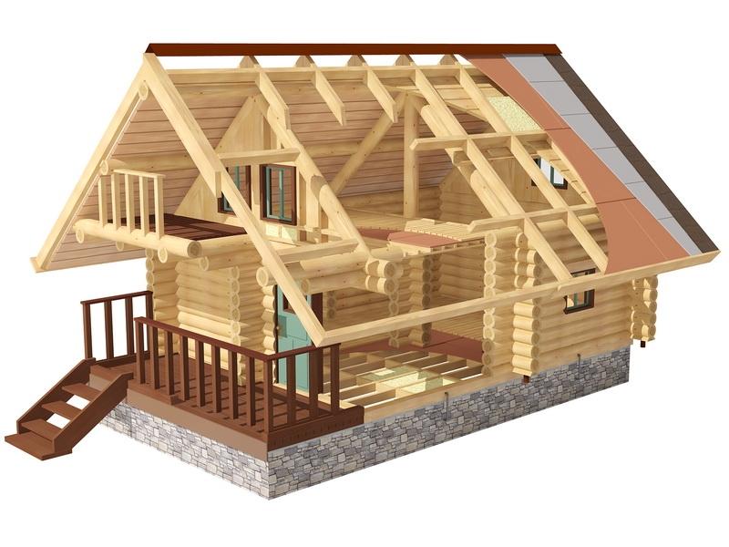 Баня и дом под одной крышей, этап проектирования