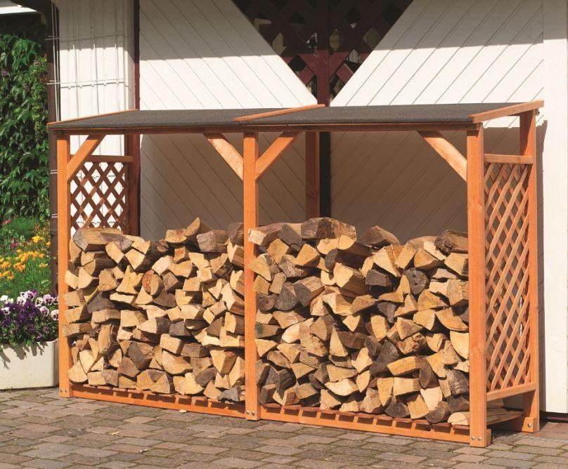 Деревянная дровница для дачи. Как изготовить самостоятельно
