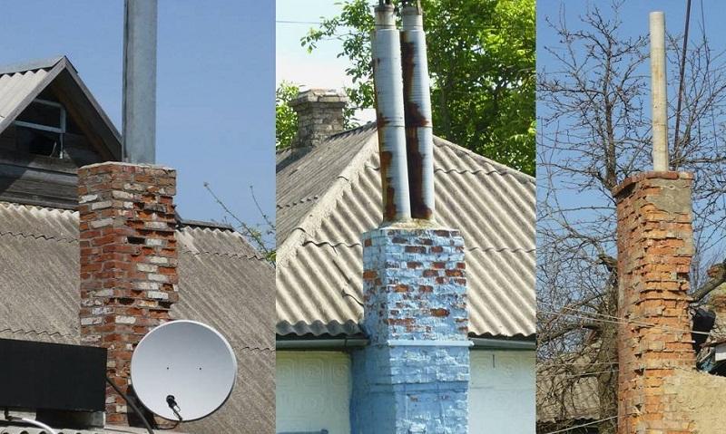 Дымоход из асбестовой трубы, возможные риски повреждения