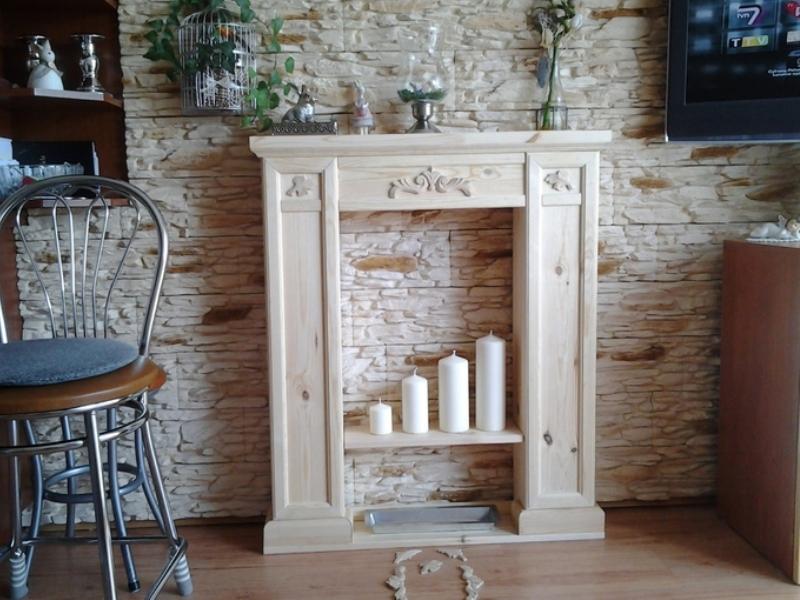 Имитация камина - создаем уют в загородном доме