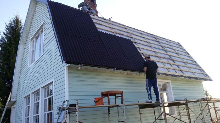 Как отремонтировать крышу на даче своими руками