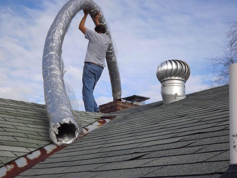 Как самостоятельно установить гофрированную трубу для дымохода в частном доме
