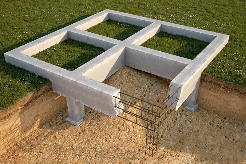 Ленточный фундамент для дачи, преимущества и недостатки конструкции