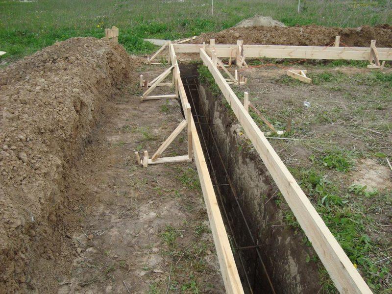 Разметка территории под установку заборной конструкции