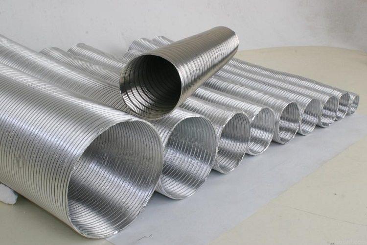 Выбор диаметра гофротрубы для дачного дымохода