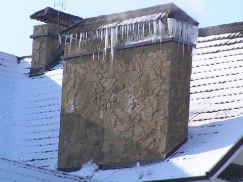 Чем грозит конденсат в дымоходе зимой