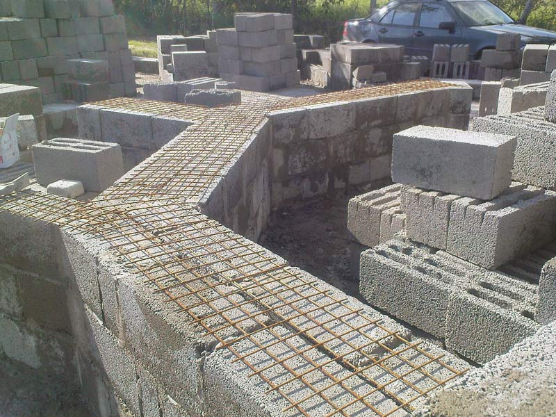 Фундамент для дома из керамзитобетона, характеристика материала