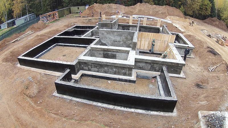 Фундамент для дома из керамзитобетона самостоятельно, ленточный фундамент