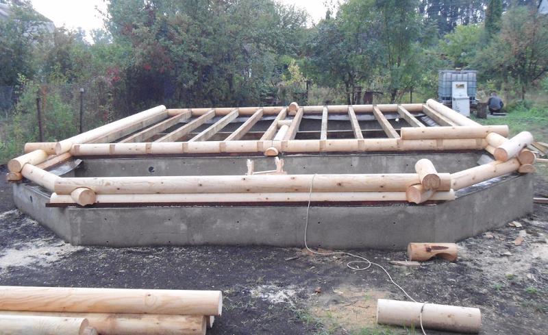 Фундамент под деревянный дом, основные типы ленточного фундамента