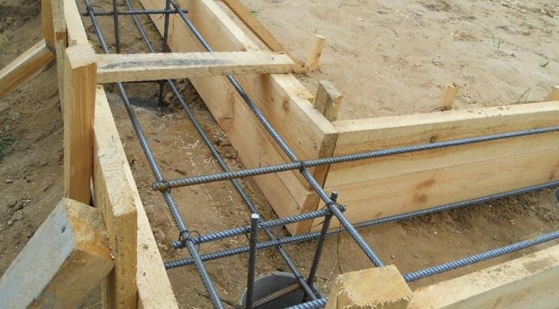 Фундамент под деревянный дом самостоятельно, требования к фундаменту