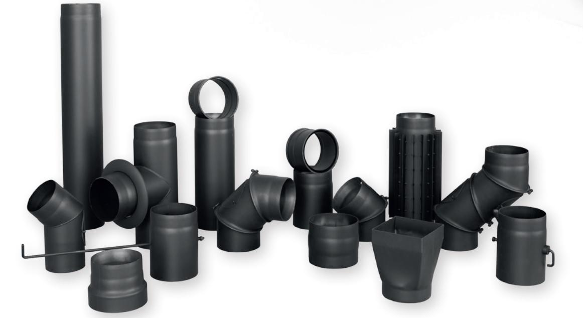 Как выбрать дымоход из черной стали для дачи