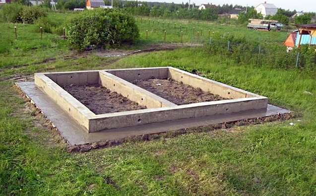 Как залить ленточный фундамент для беседки на дачном участке