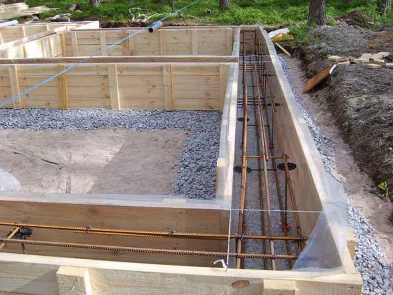 Песок для фундамента для дачи, фракции песочного материала
