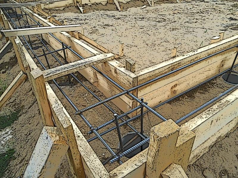 Песок для фундамента для дачи, речной осадок