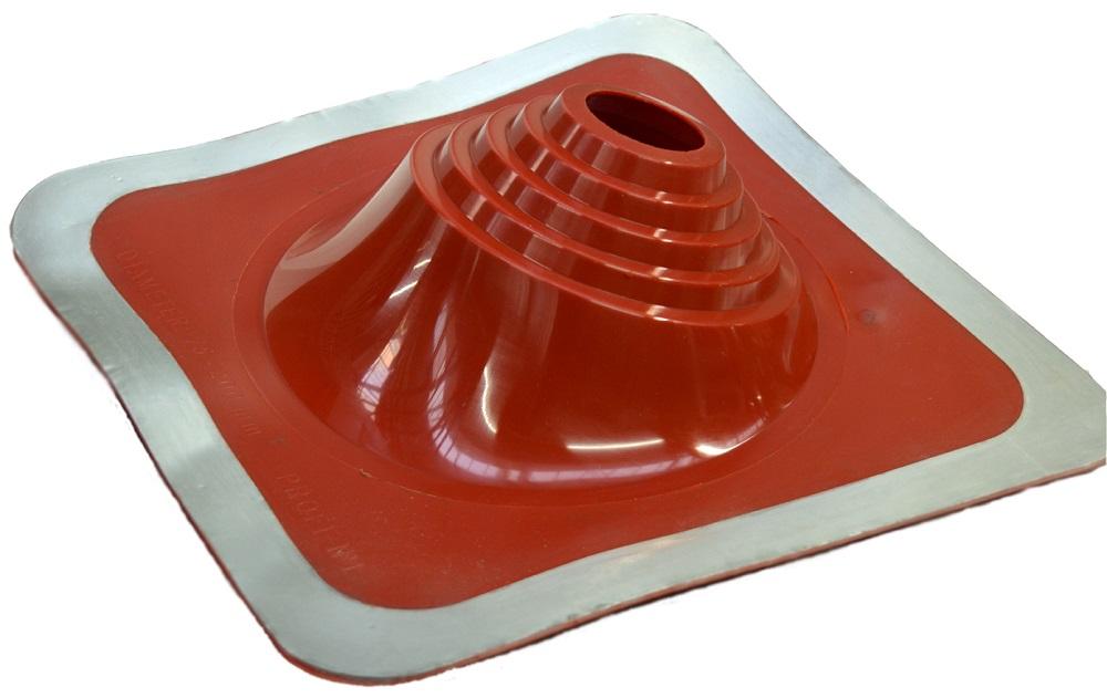 Преимущества применения эластичного кровельного уплотнителя дымохода