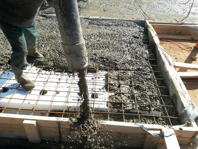 Сколько надо цемента на фундамент для дачи, портландцемент