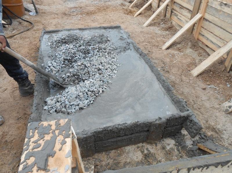 Сколько надо цемента на фундамент для дачи, расширяющиеся сухие смеси