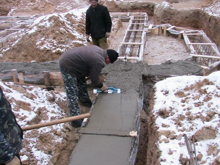 Сколько надо цемента на фундамент, заполняющие вещества песок и гранит