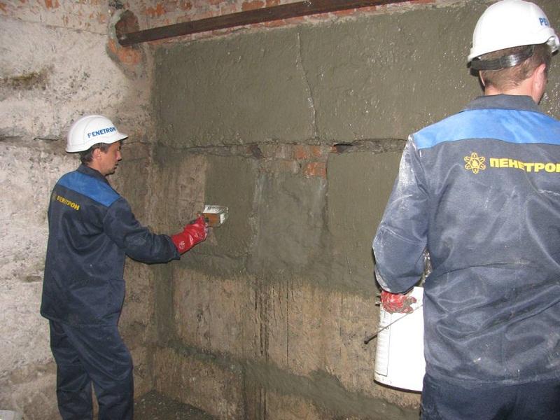 Стены погреба, обработка внешней стороны стен