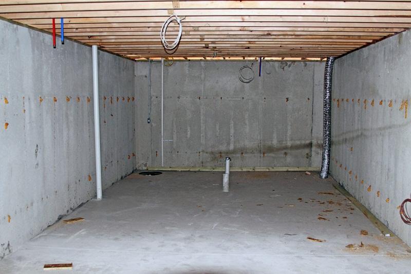 Стены погреба, подготовка к проведению отделочных работ