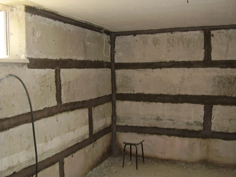 Стены погреба, различные варианты отделки погреба